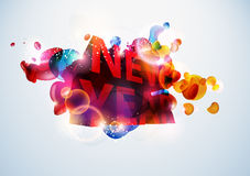 New Year 2011. New Year illustration for 2011 Royalty Free Stock Photography