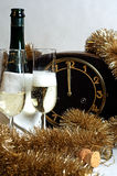 New Year 2011. Photo of clock which is symbol of upcoming year 2011 stock photos