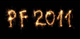 New year 2011 stock photos