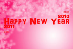 New Year 2011. Happy New Year 2011 -  Red Background Illustration Stock Photo