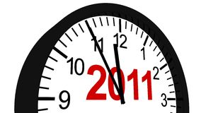 New Year 2011. In 3D Royalty Free Stock Images