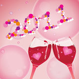 New year, 2011. Celebration of new year, 2011, cheers Stock Illustration