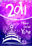 New year 2011 background Stock Photo