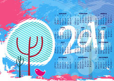New year 2011 colorful design. Elegant christmas and new year background with beautiful concept,vector illustration Royalty Free Stock Image