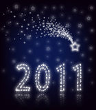 New Year 2011. Star stock photos