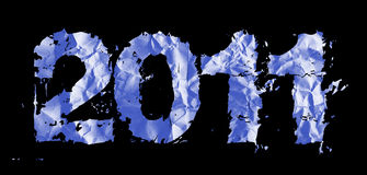 New year 2011 theme Royalty Free Stock Images