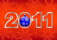 New year 2011! vector 10eps. Stock Photo