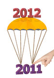 New year 2012. Is coming vector illustration