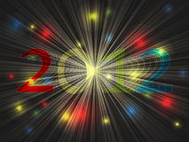 New year 2012 Stock Image