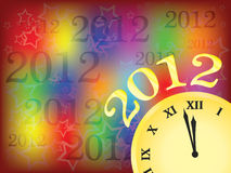 New year 2012. Vector illustration Stock Photography