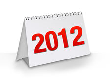 New Year 2012. Calendar concept Stock Photography