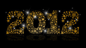 New Year 2012 Stock Photo