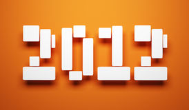 New year 2012 Royalty Free Stock Image