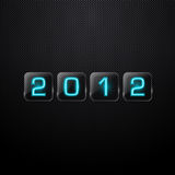 New year 2012. Vector illustration royalty free illustration