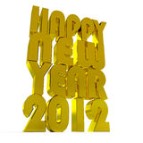 New year 2012. Stock Image