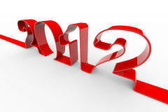 New year 2012. Stock Images