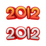 New year 2012. Stock Photography