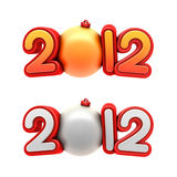 New year 2012. Stock Photos