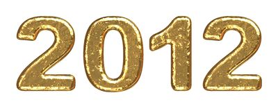 New Year 2012 background Royalty Free Stock Photos