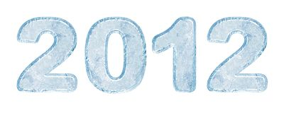 New Year 2012 background Royalty Free Stock Photography