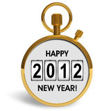 New Year 2012 concept Royalty Free Stock Images