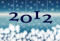 New Year 2012 Fund Royalty Free Stock Photography