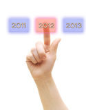 New year 2012 and the years ahead Royalty Free Stock Photography