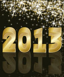 New Year 2013. Vector illustration Stock Illustration