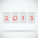 New year 2013. Happy new year 2013 design vector illustration