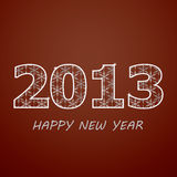 New year 2013. Holidayeps10.vector Royalty Free Stock Images