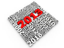 New Year 2013 Royalty Free Stock Image