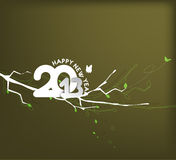 New year 2013. Background for new year paper calender design Stock Images