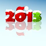 New year 2013. 3d new year 2013 design element. Vector illustration Stock Photos