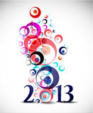 New year 2013. Design element vector illustration