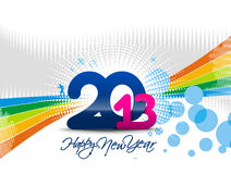 New year 2013. Design  element Royalty Free Stock Photo