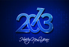 New year 2013. Design  element Royalty Free Stock Photography