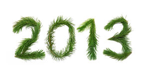New Year - 2013 Royalty Free Stock Images