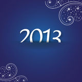 New year 2013. Background for new year 2013 Stock Photography