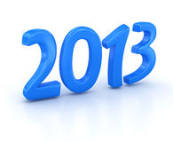 New Year 2013. 3d rendered image Stock Images