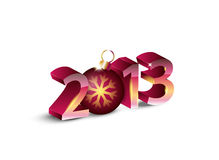 New year 2013. Background. Vector illustration Royalty Free Stock Images