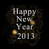 New Year 2013. Background for new year 2013 stock illustration