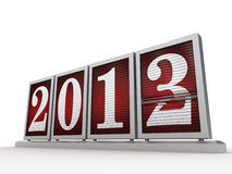 New Year 2013 _ 3 Stock Photo
