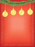 New year 2013 background. New year 2013 vector background vector illustration