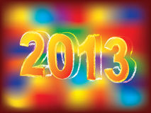 New Year 2013 background Stock Photo