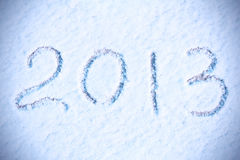 New Year 2013 background stock photos