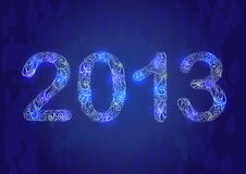 New Year 2013 Card Stock Image