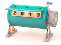 New year 2013 counter Stock Image
