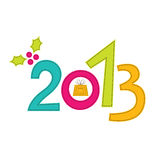 New Year 2013 design Royalty Free Stock Photography