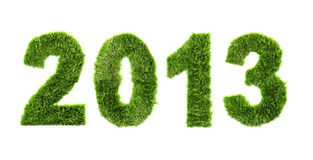 New year 2013 - ecology concept. New year background - ecology concept Stock Photo