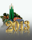 New Year 2013 graphic Stock Images